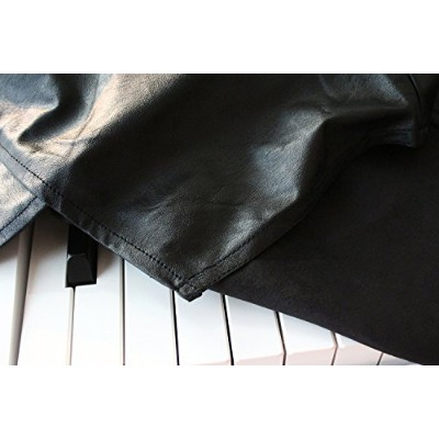 Clairevoire C115 Digital Piano Cover デジタルピアノカバー ヤマハ [限定版レザーレット Black Leatherette] for Yamaha P115 /...