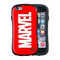 iFace First Class MARVEL iPhone6s / 6 ケース 耐衝撃 / ロゴ / レッド
