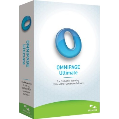 Nuance OMNIPAGE ULTIMATE E709A-G00-19.0