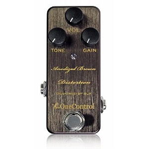 One Control ワンコントロール エフェクター ディストーション Anodized Brown Distortion