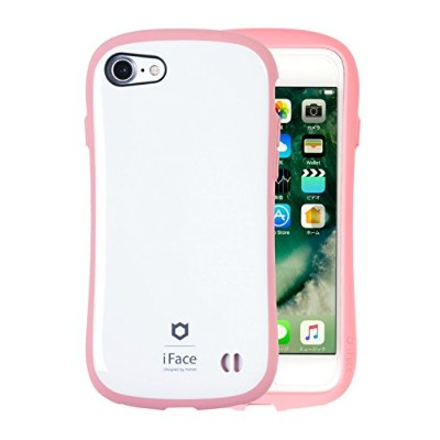 iFace First Class Pastel iPhone8/7 ケース 耐衝撃/ピンク
