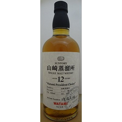 サントリー 山崎蒸留所 12年 シェリー樽モルト 660ml Suntory Single Malt Whiskey Yamazaki 12 year old Sherry Cask