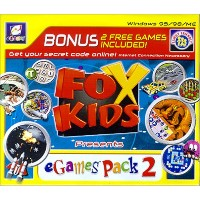 Fox Kids: Egames Fun Pack #2 (Jewel Case) (輸入版)