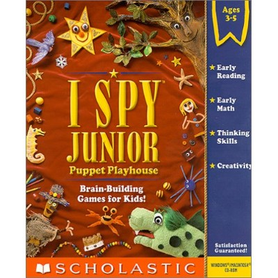 I Spy Junior: Puppet Playhouse (輸入版)