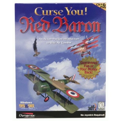 Curse You! Red Baron (輸入版)