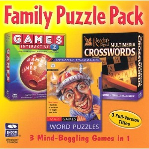 Family Puzzle Pack Gold Collection (Jewel Case) (6-Pack) (輸入版)