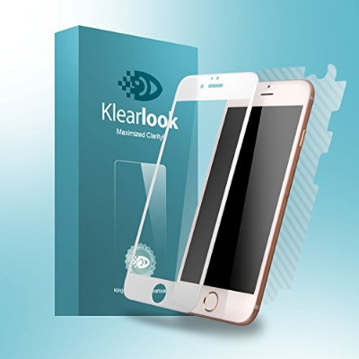 KlearLook iPhone6s Plus / iPhone6 Plus 「3D曲面で100%フィット」強化ガラス液晶保護フィルム 全面 3D Touch対応 0.33mm 硬度9H ...