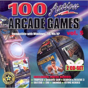 100 Action Arcade Games v.5 (Jewel Case) (輸入版)