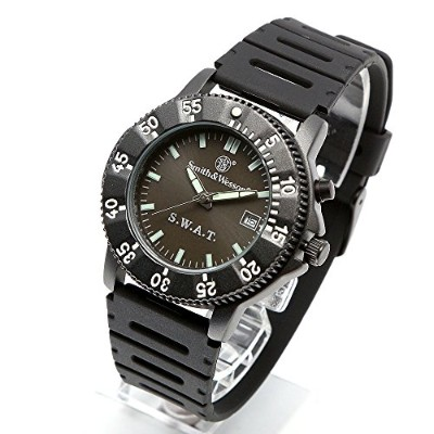 [Smith & Wesson]スミス&ウェッソン ミリタリー腕時計 SWAT WATCH BLACK SWW-45 [正規品]