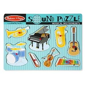Musical Instruments Sound Puzzle: Puzzles (Wooden) - Sound Puzzles