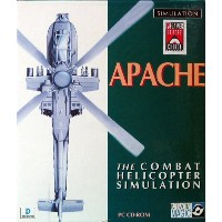 APACHE THE COMBAT HELICOPTER SIMULATION (英語版 日本語マニュアル付) [PC Game Soft Dos]