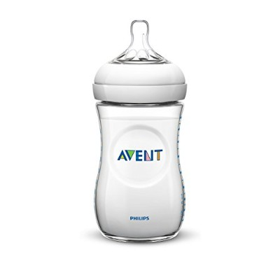 Philips Avent SCF696/27 Feeding Bottles 330 ml with Teats 3 Holes Natural Pack of 2