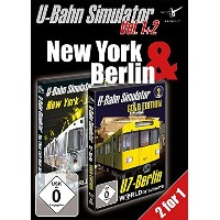 Hot Price U-Bahn Simulator Vol. 1+2 Bundle: New York und Berlin
