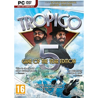Tropico 5 Game of the Year Edition (PC DVD) (輸入版)
