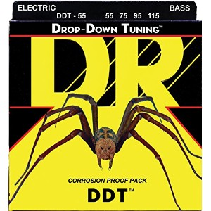 DR DDT(Drop-Down-Tuning) ベース弦 DR-DDT55
