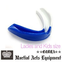 COBRA 薄型マウスピース LADIES AND JUNIOR MOUTH GUARD BL/WH