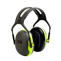3M Peltor ぺルター イヤーマフ X-Series Over-the-Head Earmuffs, NRR 27 dB, One Size Fits Most, Black...
