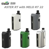 Eleaf ASTER RT with MELO RT 22 アトマイザーとバッテリーセット (white)