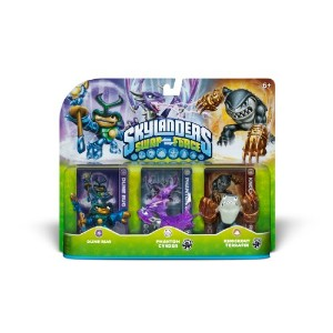 Skylanders Swapforce Triple Pack: DUNE BUG/PHANTOM CYNDER /KNOCKOUT TERRAFIN スカイランダーズ スワップフォース...