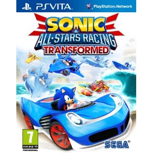 Sonic & All-Stars Racing Transformed (PS VITA) (輸入版) (UK Account required for online content)