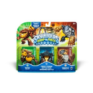 Skylanders SWAP FORCE Battle Pack Fiery Forge/Bumble Blast/Knockout Terrafin スカイランダーズ スワップフォース バトルパック(輸入版)