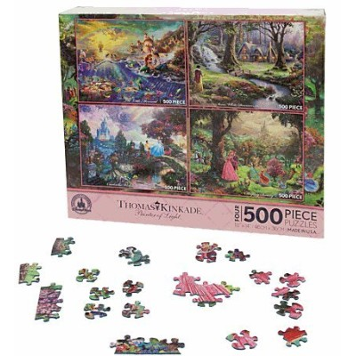 Disney(ディズニー)Disney Princess Puzzle Set by Thomas Kinkade パズルセット 【並行輸入品】