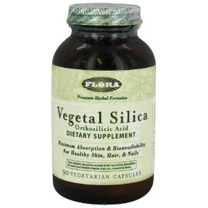VegeSil Vegetal Silica Flora Inc 90 Caps by Flora Inc [並行輸入品]