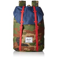 [ハーシェルサプライ]Herschel Supply バックパック 22.5L 10066 RUBBER WOODLANDCAMO_NAVY_RED