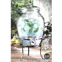 stylesetter GLASS BEVERAGE DISPENSER 2.65GALLON 10L ビバレッジ ディスペンサー