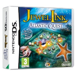 Jewel Link Atlantic Quest (Nintendo DS) (輸入版)