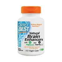 海外直送品 Doctors Best Natural Brain Enhancers, 60 Vcaps