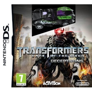 Transformers: Dark of the Moon - Decepticons - with toy (Nintendo DS) (輸入版)