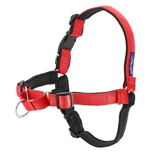 Deluxe Easy Walk Harness サイズ:MEDIUM/LARGE カラー:ROSE / BLACK (ローズレッド/ブラック)