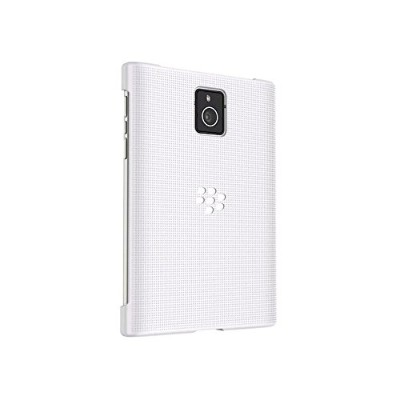 Genuine BlackBerry Passport 専用 Hard Shell Case Cover - White ホワイト (ACC-59523-002)