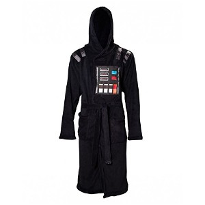 公式Star Wars Darth Vader大人用ブラックDressing Gown withケープ