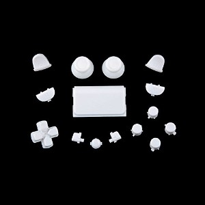 Sony PS4 Playstation 4 Full Button Set - White