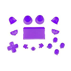Sony PS4 Playstation 4 Full Button Set - Crystal Lilac
