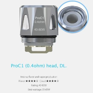Joyetech ProC Series Heads ProCore Aries 用交換コイル (ProC1 0.4Ω)
