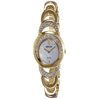 SEIKO Womens Solar Modern Jewelry Crystal Watch SUP298P1 《並行輸入品》