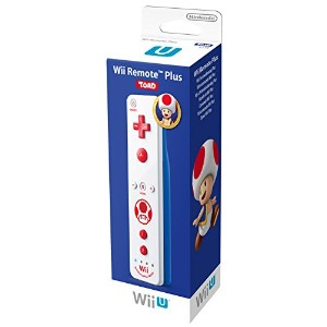 Wii U Remote Plus Toad Edition