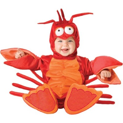 Lil Lobster Infant/Toddler Costume リルロブスター乳児/幼児コスチューム サイズ:6/12 Months