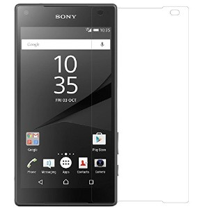 M-MODES Xperia Z5 Compact SONY用 強化ガラス ガラスフィルム 保護フィルム 保護シート 保護シール 0.26mm超薄 飛散防止 指紋防止 撥油性 疎水性 硬度9H...