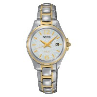 Seiko  Ladies Solar Watch with Date SUT234P1 《逆輸入品》