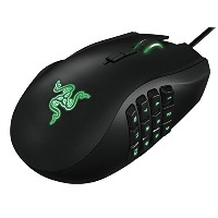 Razer Naga 2014 USB Left Handed Edition Expert MMO Gaming Mouse