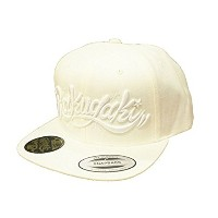 "RAKUGAKI(ラクガキ) Main logo Snap Back Cap ""Snow White Edition"" キャップ 冬季限定"