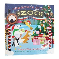JUMPING JACK PRESS クリスマス ポップアップブック (Christmas at the Zoo) JJP101