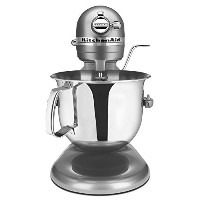 KitchenAid rksm6573cu 6-qt。Professional bowl-liftスタンドミキサー – Contourシルバー(認定Refurbished ) 6-Quart...