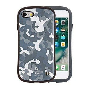 iPhone8 iPhone7 ケース 耐衝撃 iFace First Class Military 正規品 / グレー