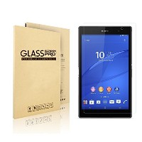 VIMVIP Sony Xperia Z3 Tablet Compact 強化ガラス 液晶保護フィルム Xperia Z3 Tablet 高級液晶保護フィルム 9H級 0.3mm エクスペリアZ3...