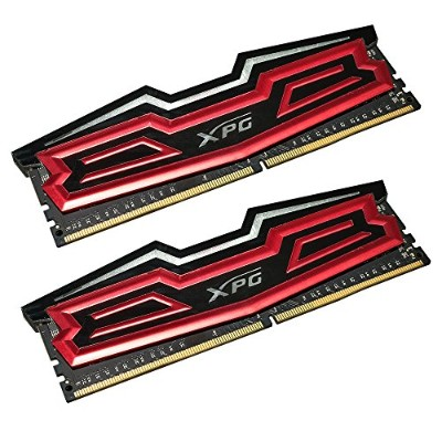 AX4U2400W8G16-DRD [XPG Dazzle LED Series DDR4 2400MHz(PC4-19200) 16GB(8GBx2枚組) Red]